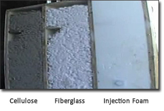 Foam Wichita - Compare other types if Insulation to Injection Foam